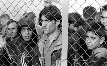 Photo archive: Migrants et réfugiés internés au centre de détention de Fylakio en Thrace, Grèce. Image du domaine public.