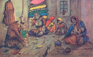 Ramadan des pauvres. Image du domaine public.
