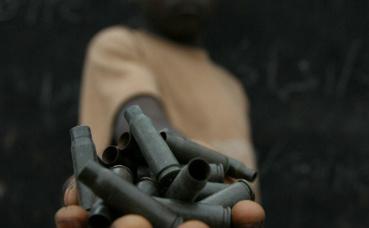 Démobilisation des enfants soldats. Photo (c) Pierre Holtz / UNICEF