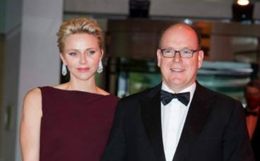Le couple princier au gala de la Fondation Albert II, le 30 juin 2016. Photo (c) E. Mathon et G. Luci / Palais Princier