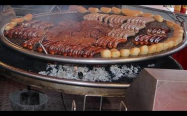 Le traditionnel barbecue allemand. Photo (c) Alice Dutray.
