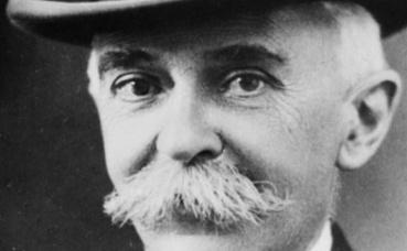 Pierre de Coubertin, fondateur du CIO. Photo (c) ANEFO