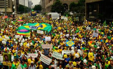 Manifestation à Sao Paulo. Photo (c) Rovena Rosa / Agência Brasil