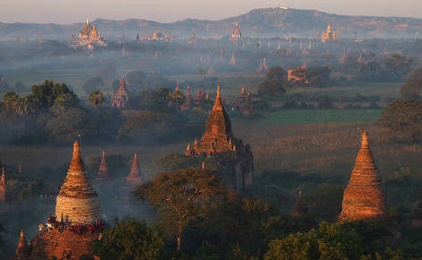 Le site de Bagan (c) Paul Arps