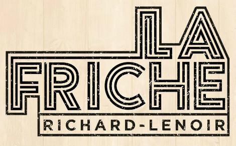Logo © La Friche Richard Lenoir. Cliquez ici pour accéder à la page Facebook