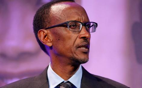 Paul Kagame, président du Rwanda depuis 2000. Photo (c) Russel Watkins