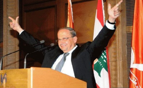 Michel Aoun. Photo (c) Imadmhj