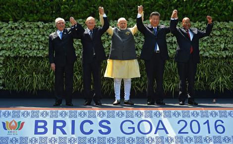 8e sommet à Goa, Inde. Photo officielle (c) Kremlin