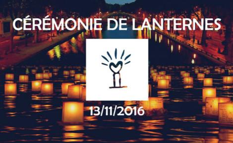 Affiche cérémonie des lanternes. Photo (c) DR.