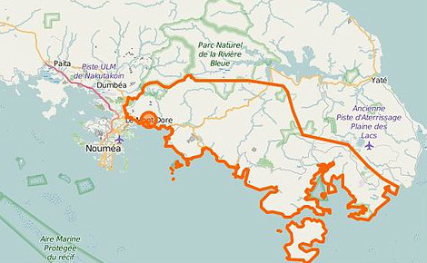 Carte du Mont-Dore (c) OpenStreetMap