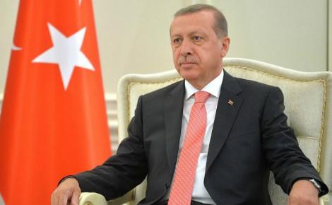 Recep Tayyip Erdogan. Photo officielle (c) Kremlin