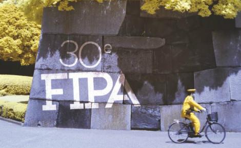 Affiche partielle de la 30e édition du FIPA. Cliquez ici pour accéder au site officiel