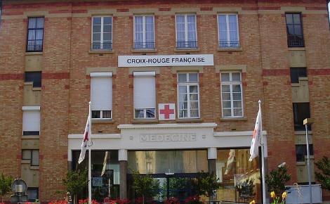 Siège de la Croix-Rouge française, à Paris. Photo (c) Geralix.