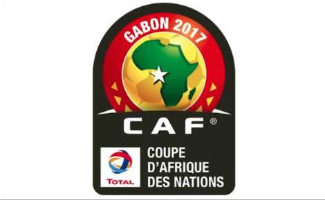 Logo de la CAN 2017. Cliquez ici pour accéder au site officiel