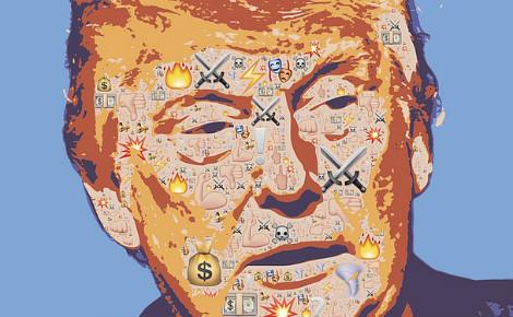 Donald Trump. Illustration (c) John Hain
