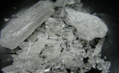 "Métamphétamine, drogue dont s'inspire le ""shabu"". Photo (c) Radspunk"