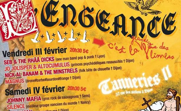 L'affiche de la Grande Fête des Limbes par Francis Llaneza. Cliquez ici pour accéder au site