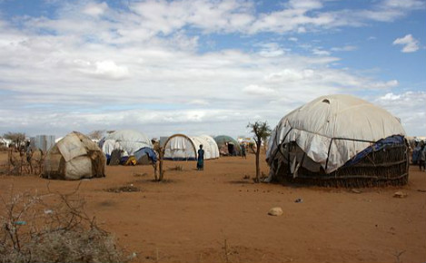Le camp de Dadaab en 2011. Photo (c) DFID - UK Department for International Development
