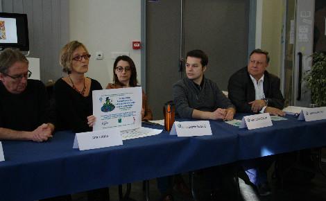 Conférence de presse du 10 février 2017. Photo (c) Anaïs Mariotti