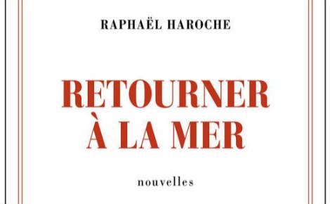 """Couverture partielle de """"Retourner à la mer"""" de Raphaël Haroche. Cliquez ici pour commander le livre"""