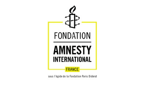 Logo de la Fondation Amnesty International France. Cliquez ici pour accéder au site