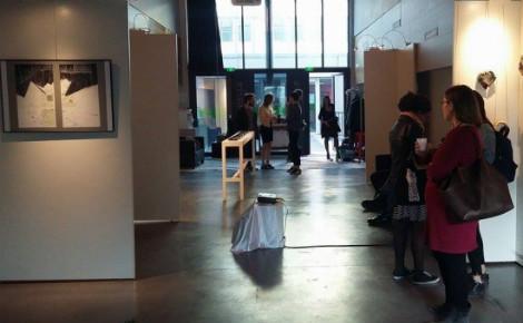 Les artistes du collectif What's What ont présenté leur travail et échangé avec le public vendredi 7 et samedi 8 avril 2017. Photo (c) Kamilla Gabdullina.