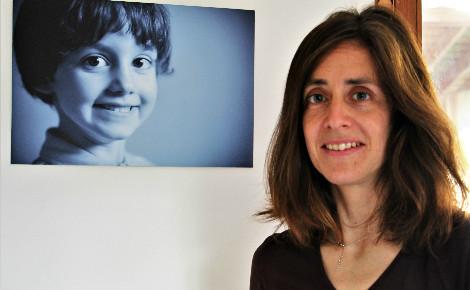 Magalie Pignard et son fils Julien, en photo. Photo (c) Anaïs Mariotti