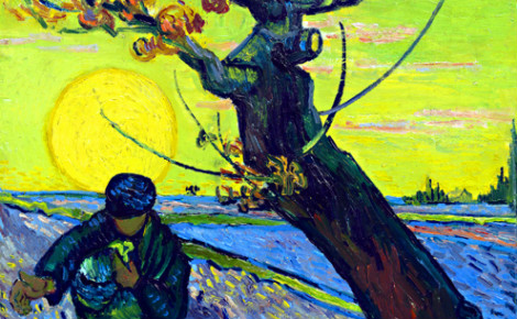 Vincent van Gogh: Le semeur © Vincent van Gogh Foundation. Cliquez ici pour accéder au site officiel de l'expo