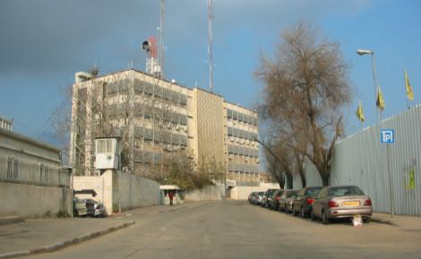 Le siège de Channel1. Photo (c) Shuki