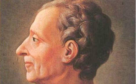 """""""Le suffrage par le sort est de la nature de la démocratie; le suffrage par le choix est celle de l'aristocratie."""" Montesquieu. Image du domaine public."""