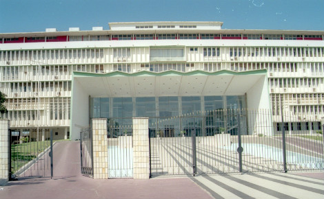 L'Assemblée nationale à Dakar, Sénégal. Photo (c) Bernard Bill