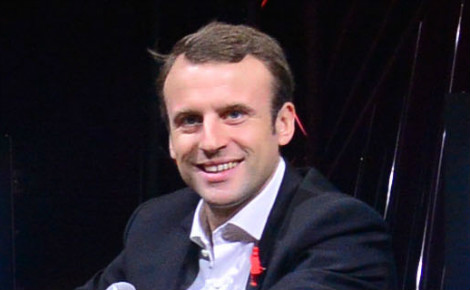 Emmanuel Macron. Photo (c) Official LeWeb Photos