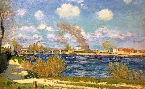 Alfred Sisley, peintures. Photo (c) Charlotte Service-Longépé