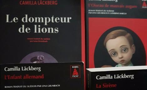 Photo: Anne-Louise Lacore. Cliquez ici pour accéder à la page de Camilla Läckberg