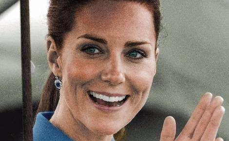 Le 4 septembre 2017, la famille royale a annoncé officiellement la troisième grossesse de la Duchesse de Cambridge. Photo (c) Ricky Wilson