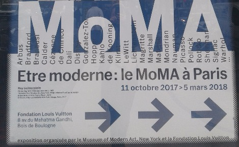 Le MoMa à Paris. Photo prise par Sarah Barreiros.