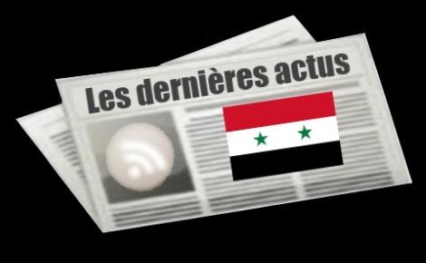 Les dernières actus de Syrie
