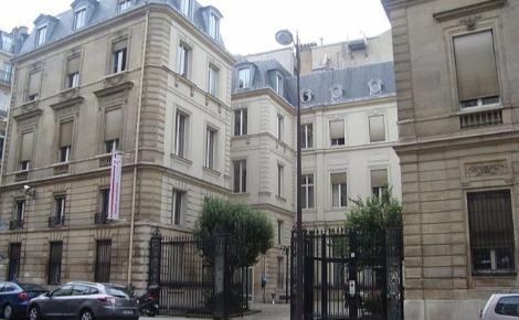 Ancien siège du Parti socialiste, rue Solférino à Paris. Photo (c) Hegor