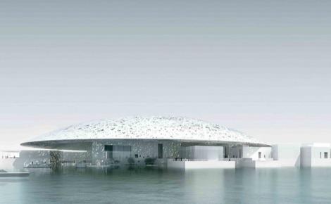 Le Louvre d'Abou Dhabi. Image du domaine public.