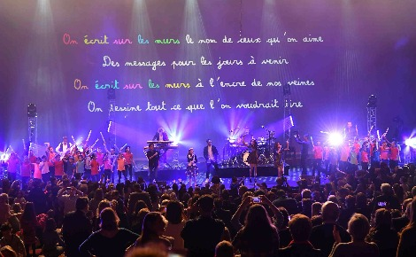 Les Kids United au Grimaldi Forum. Photo courtoisie (c) Manuel Vitali