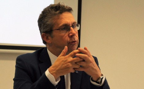 Christophe Ferrari, président de Grenoble-Alpes-Métropole. Photo (c) Anaïs Mariotti