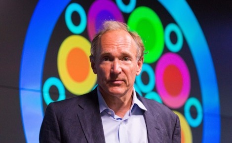 Tim Berners-Lee à l'Open Data Awards. Photo (c) Open Data Institute