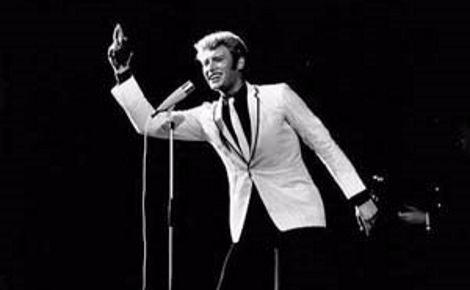 Johnny en 1965. Photo (c) Erling Mandelmann