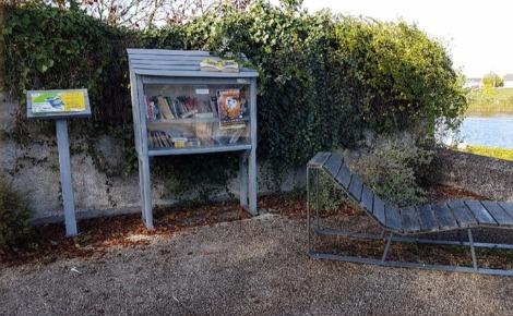 Boîte à livres. Photo prise par l'auteur.