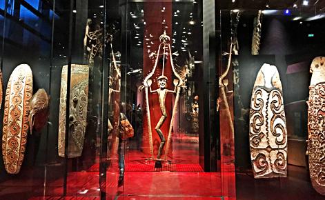 Musée du Quai Branly. Photo (c) Charlotte Service-Longépé
