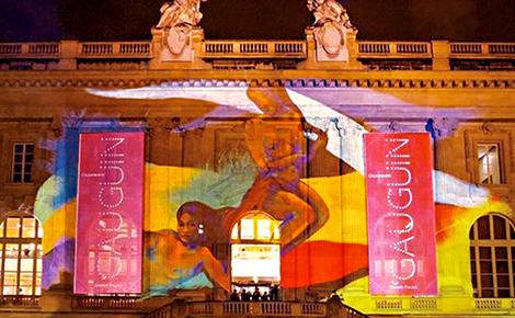 Gauguin nocturne, Grand Palais. Photo (c) Charlotte Service-Longépé