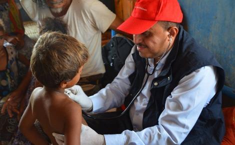 """Photo publiée sur la page Facebook de """"Save the Children"""" de Yémen. Cliquez ici pour y accéder"""