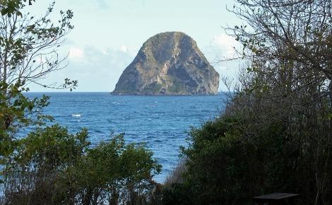 Le Rocher du Diamant. Image du domaine public.
