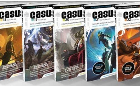 Couverture du magazine Casus Belli. Cliquez ici pour accéder au site officiel