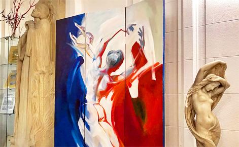 """""""En fête"""" à la Maison de France de Monaco. Photo (c) Charlotte Service-Longépé"""